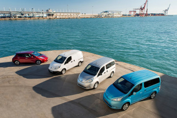 3Nissan y AVIS crean la flotilla más grande de vehículos eléctricos en Europa - MAKINAS