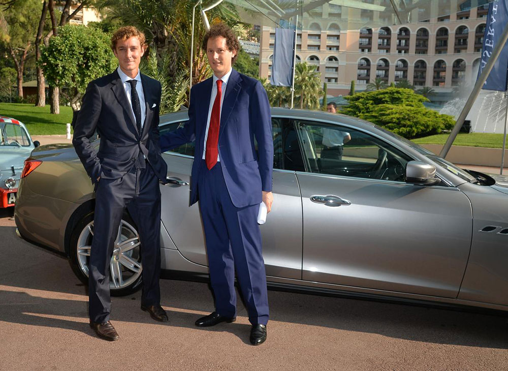 El FT Business of Luxury Summit 2015 Montado en Maserati - MAKINAS