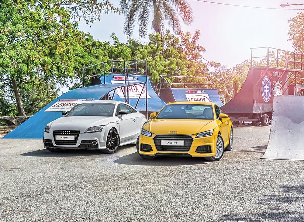 2. En Perfecta Forma Atletica y TTecnologica El Totalmente Nuevo Audi TT - MAKINAS