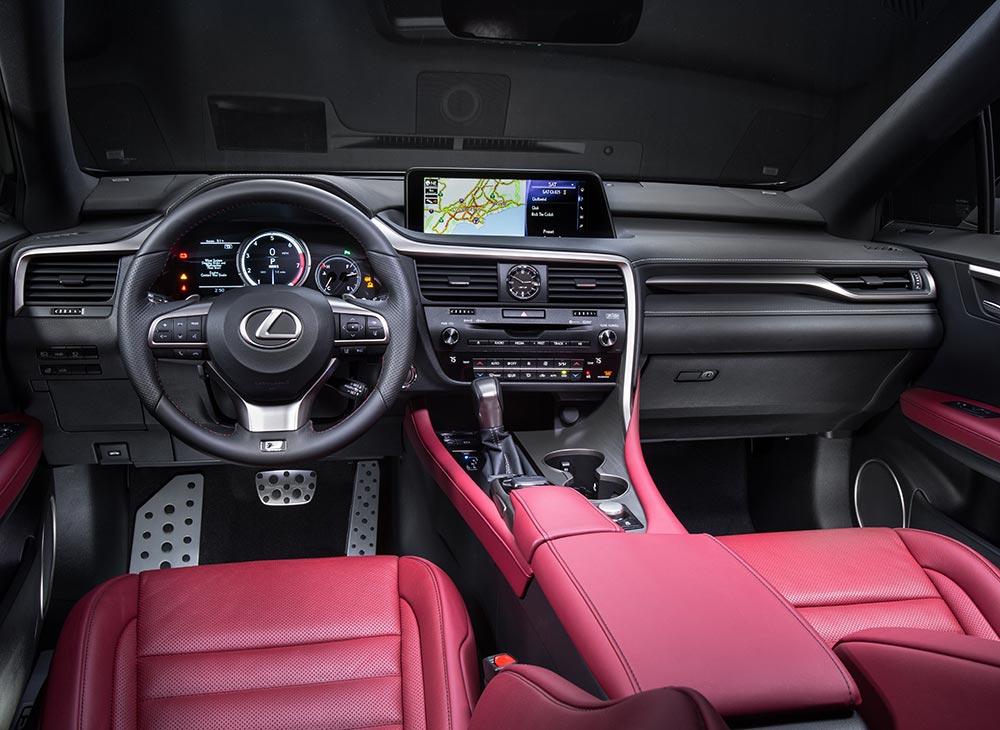 12. Lexus RX Cultura de Poder Premium - MAKINAS