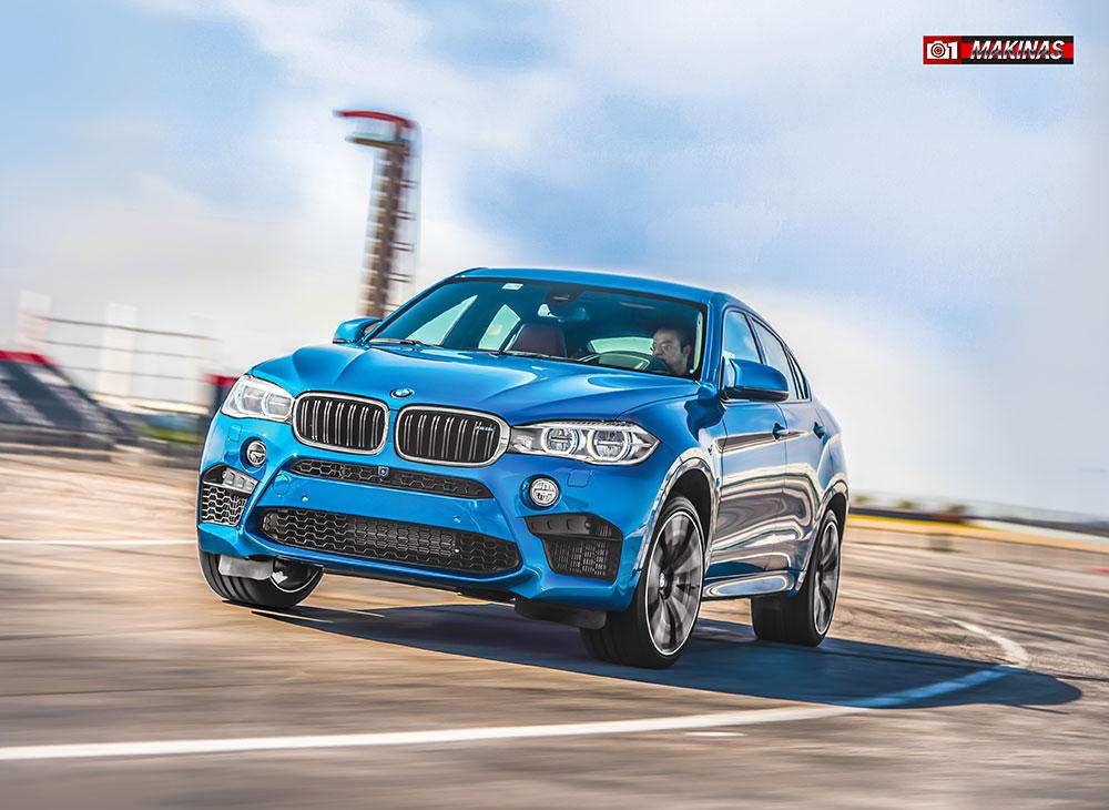 El Totalmente Nuevo BMW X6 M, Destella su M hasta 'Magno' Poder - MAKINAS (9)