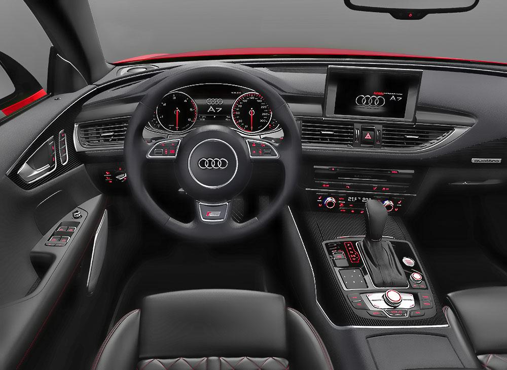 9. Audi A7 Sportback… Distinción Premium a la 7ma Potencia - MAKINAS