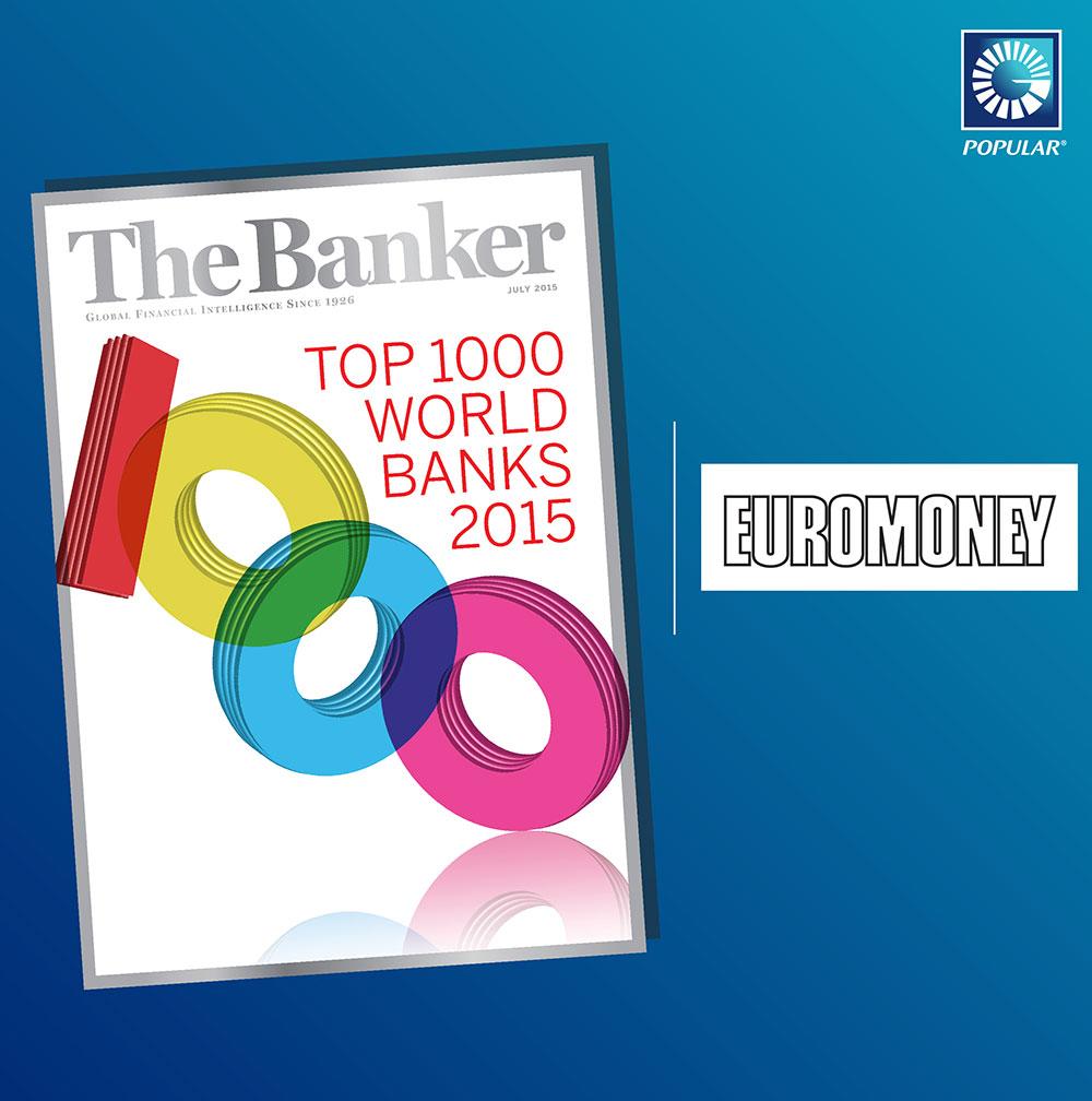 Doble Premio al Banco Popular de Euromoney y The Banker - MAKINAS